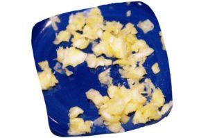 Recette de la salade de fenouil au poulet : ail écrasé