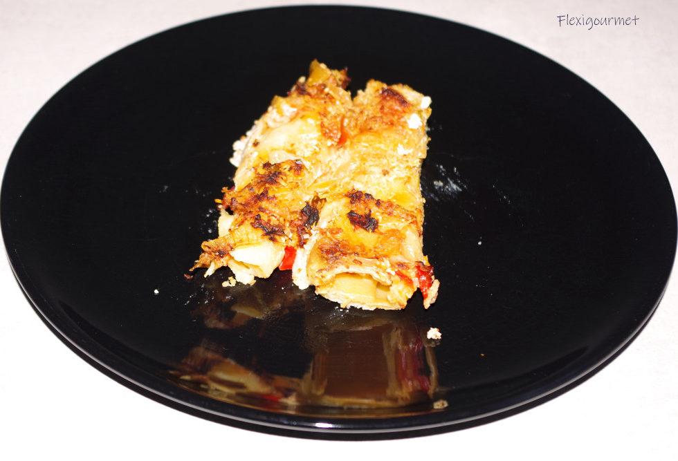 Recette végétarienne : cannellonis à la ricotta