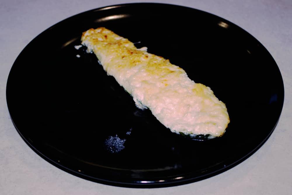 Recette facile des courgettes au fromage