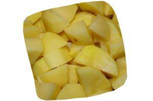 Recette des gnocchis de pomme de terre maison : dés de pomme de terre