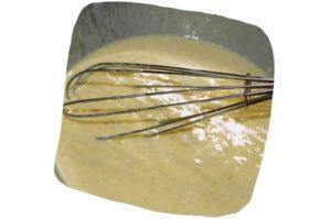 Recette des beignets de courge butternut sans friture : pâte à beignet