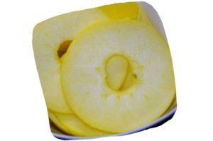 Recette de pizza pommes et camembert : rondelles de pomme